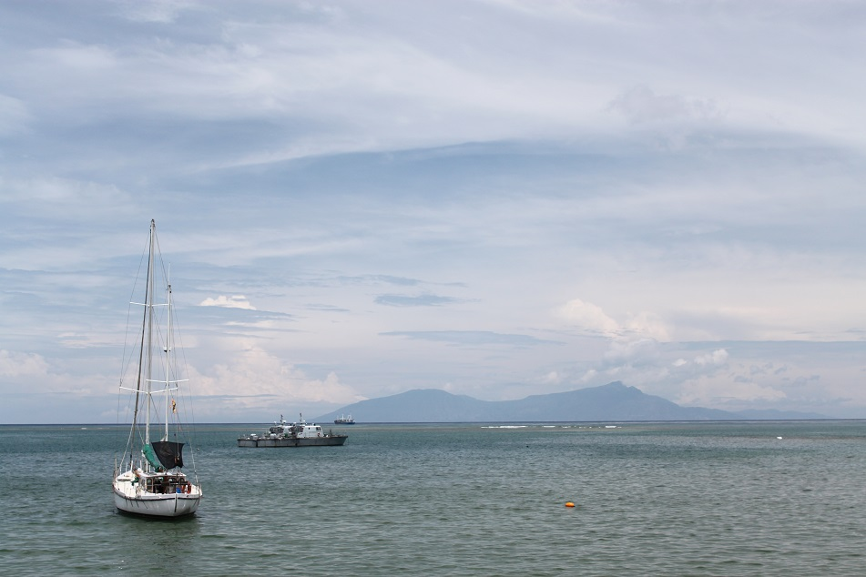 Atauro Island Seen from Dili