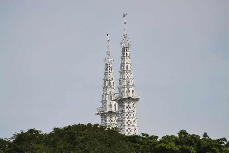 Jakarta Cathedral's Spires