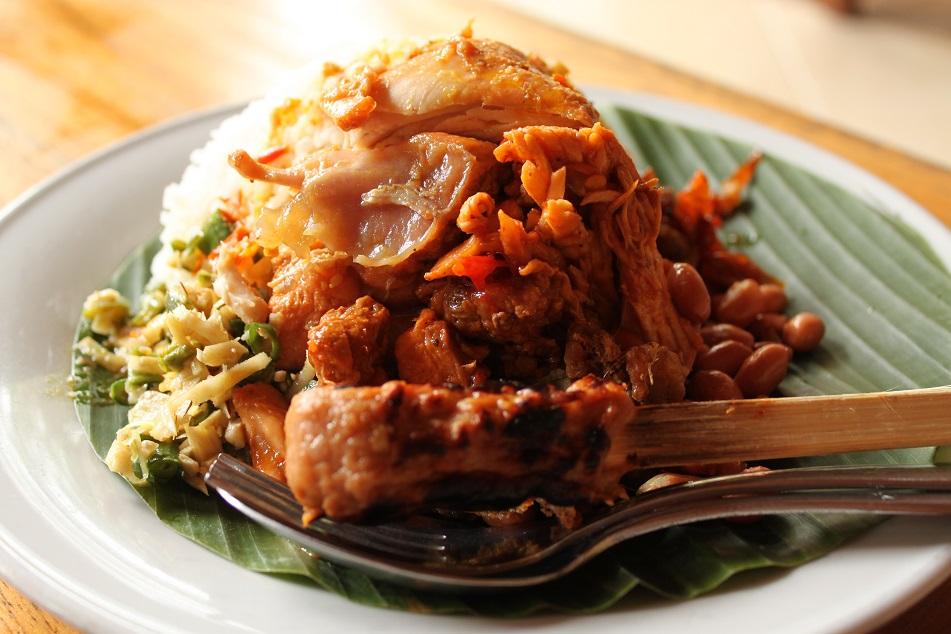 Nasi Ayam Kedewatan Bu Mangku, Ubud