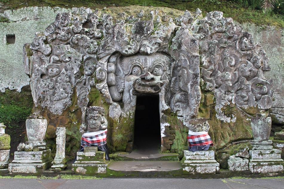 The Entrance to Goa Gajah
