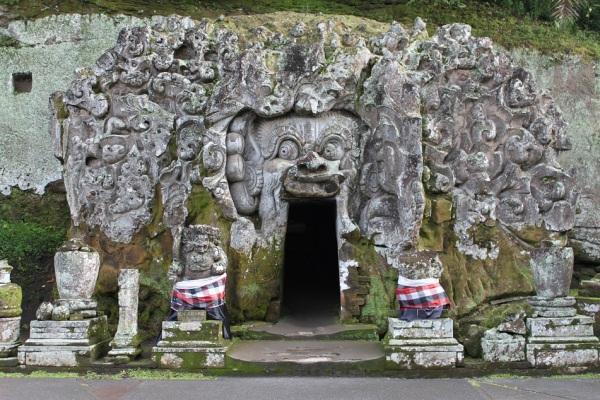 The Entrance to Goa Gajah