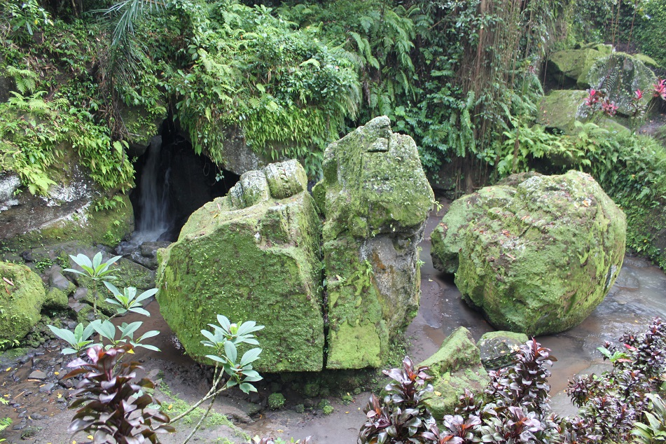 The Remains of A Buddhist Temple Near Goa Gajah