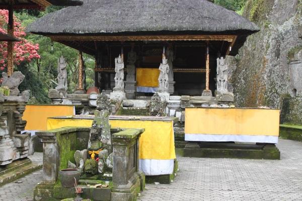 A Pura at Candi Gunung Kawi