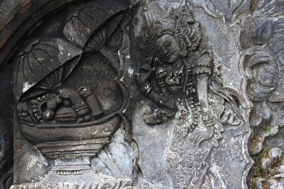 Reliefs at Kerta Gosa