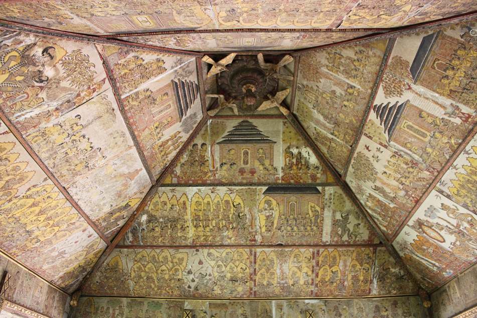 The Painted Ceiling of Kerta Gosa