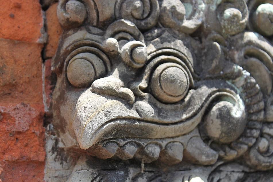 The Face of Garuda