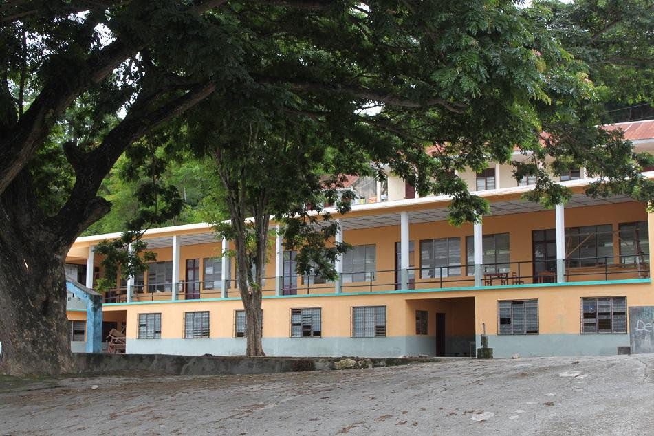 Baucau's Former Portuguese School