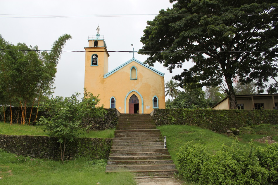 A Church Near Escola do Reino de Venilale