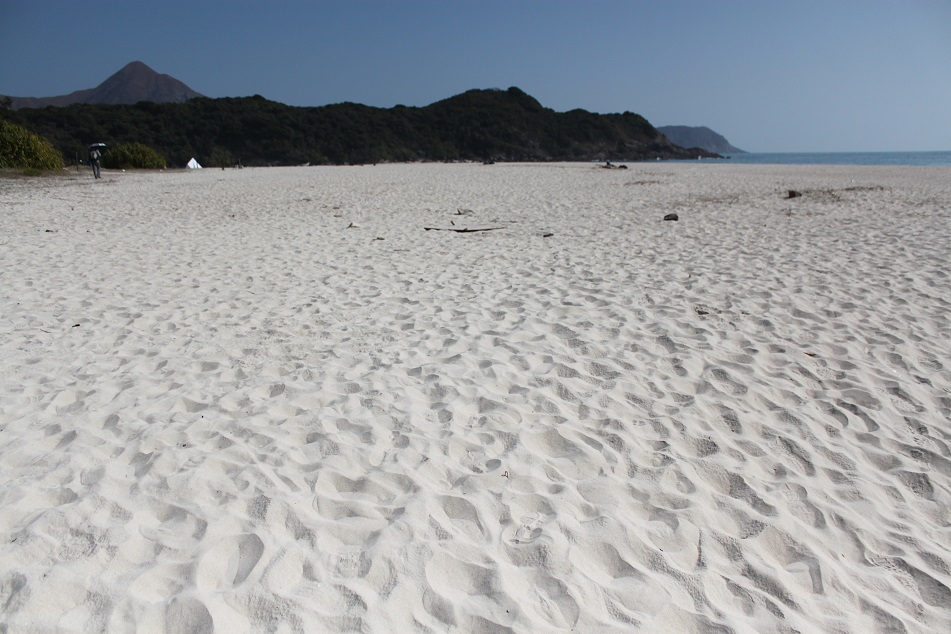 Fine White Sand at Ham Tin Wan