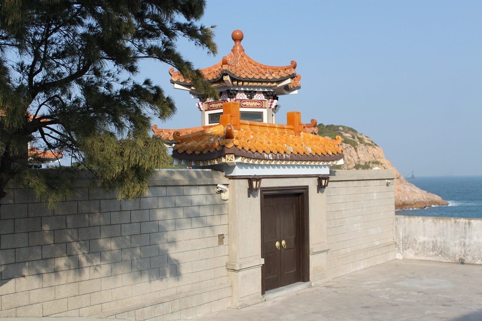 A Wall with Chinese Ornament