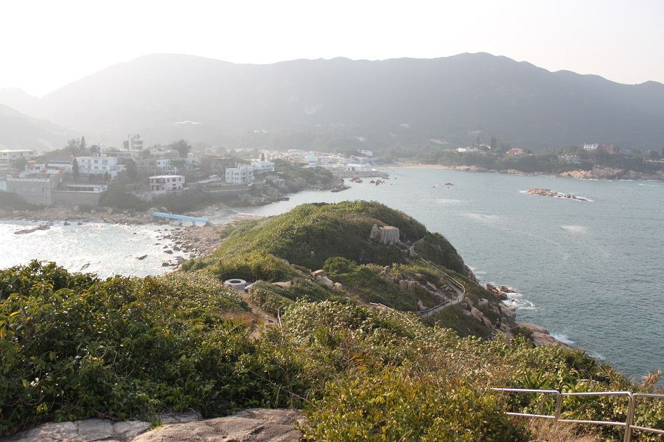 View of the Mainland