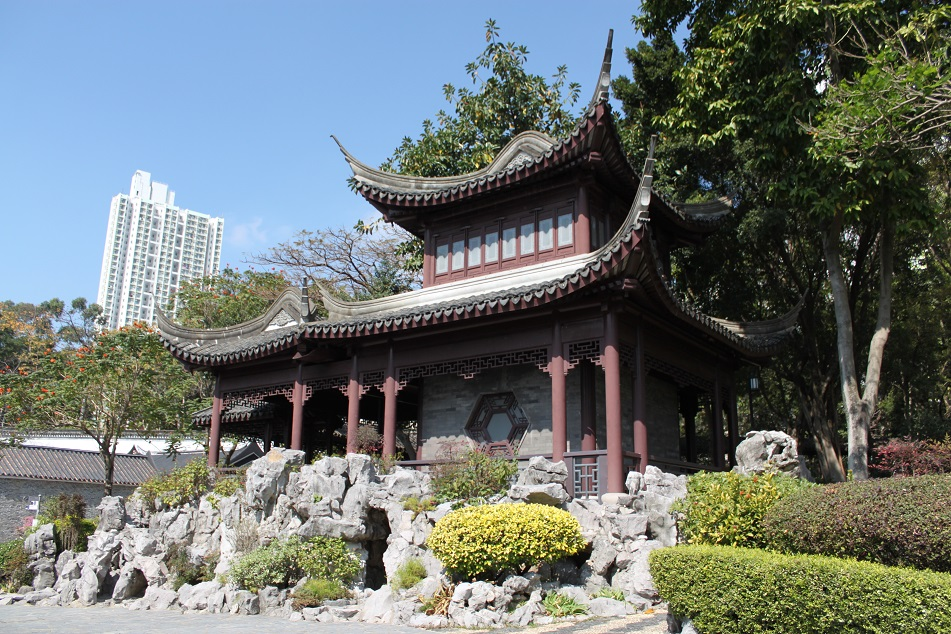 A Pavilion in Jiangnan Style
