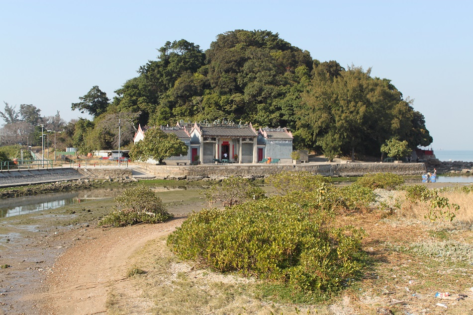 An Old Temple Near the Sea