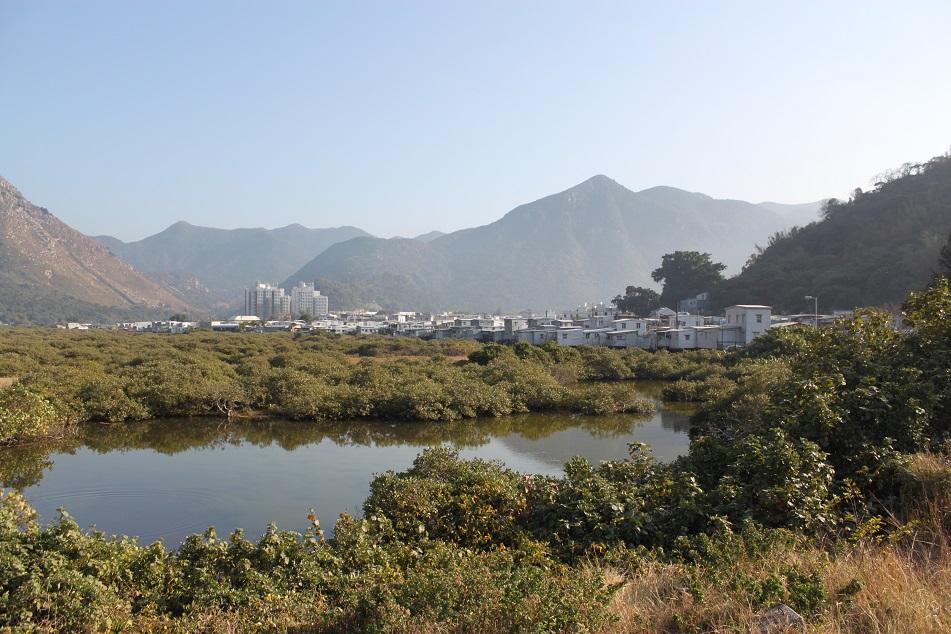 The Village of Tai O, Lantau Island