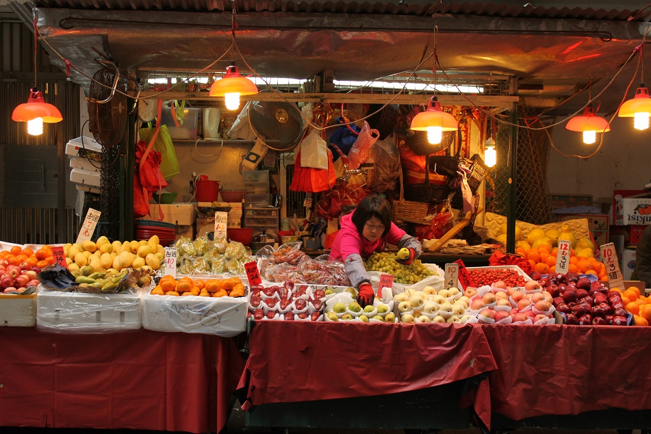 A Fruit Vendor