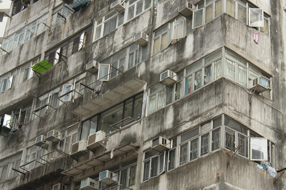 Drab Residential Buildings