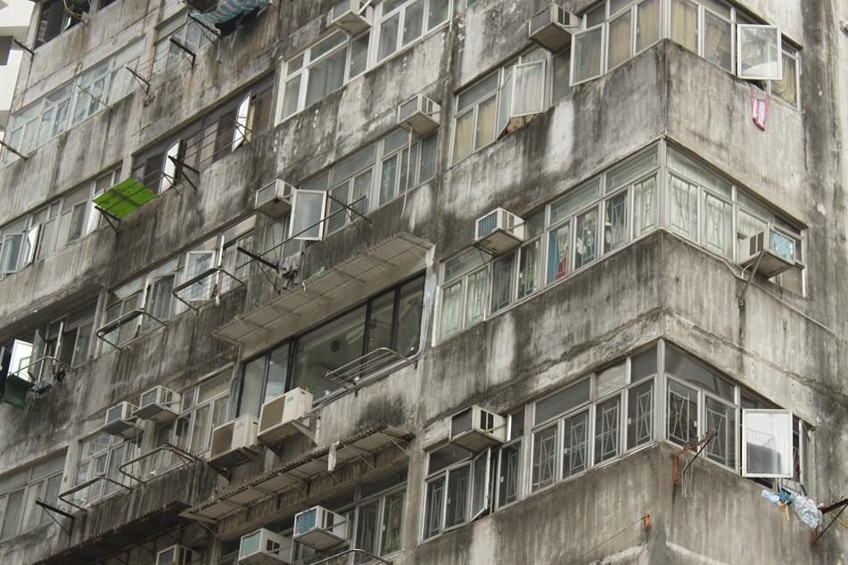 Drab Residential Buildings