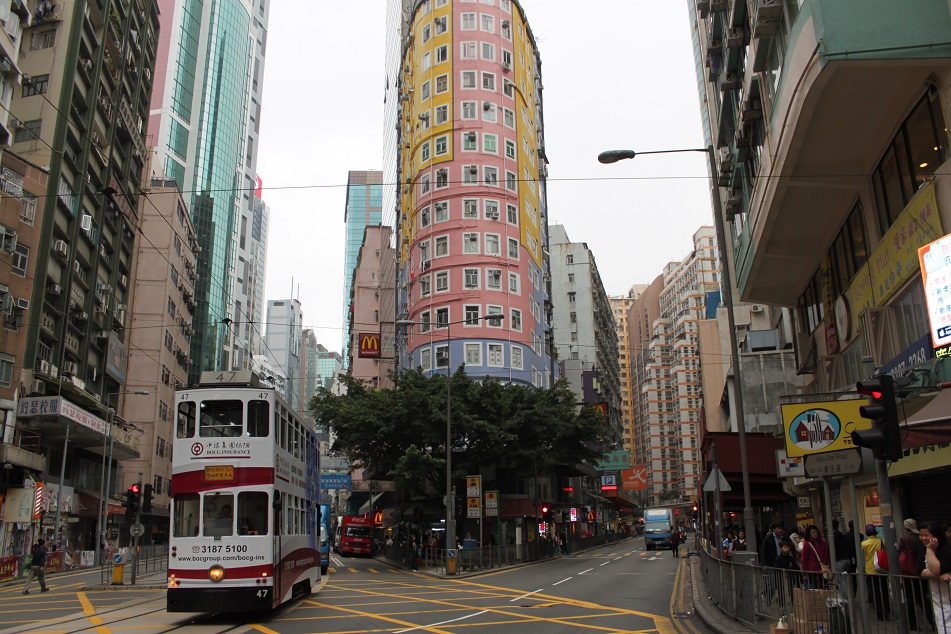 Downtown Wan Chai