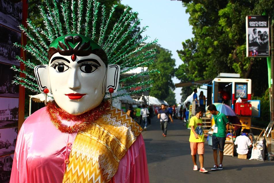 Ondel-Ondel, Jakarta's Giant Puppet