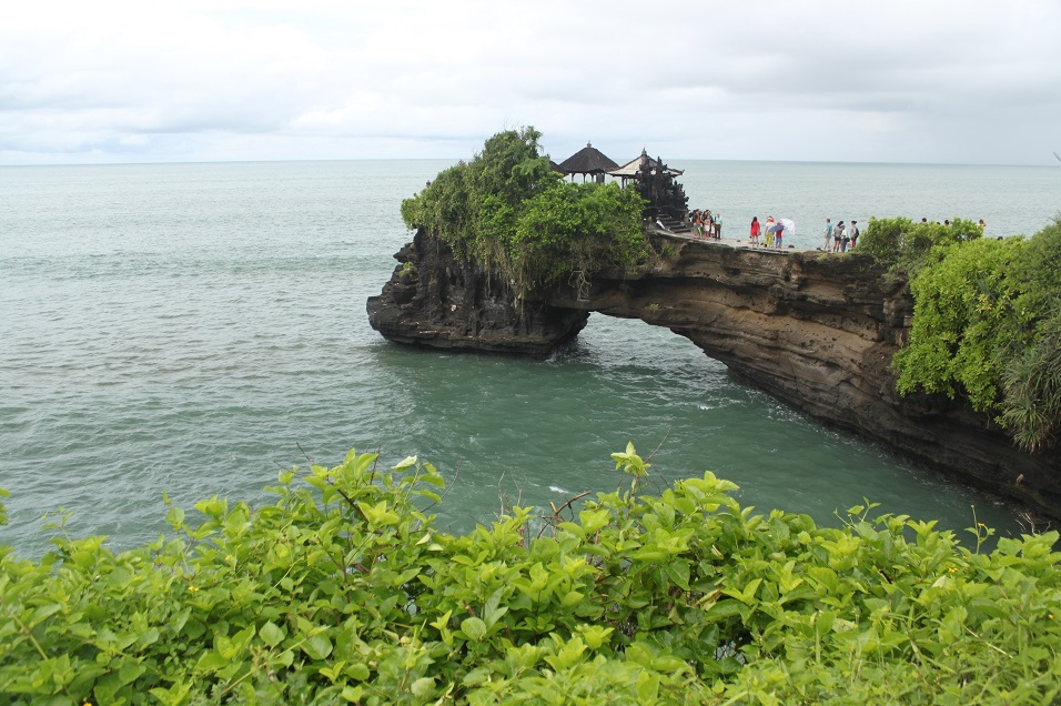 A Smaller Temple Near Tanah Lot