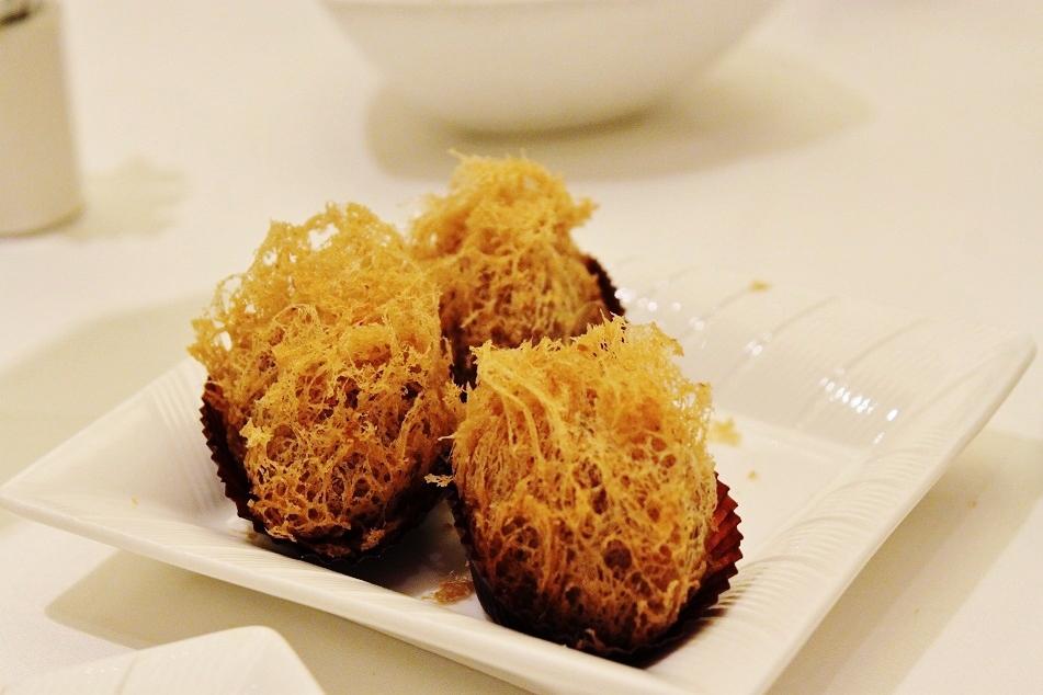Wu Gok (Fried Taro Dumplings)