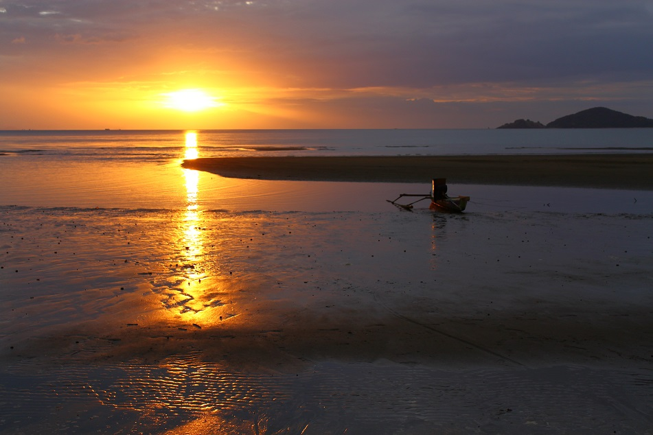 The Magical Sunset at Labuan Bajo