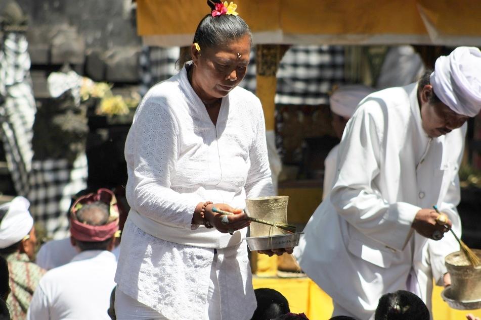 A Hindu Priestess