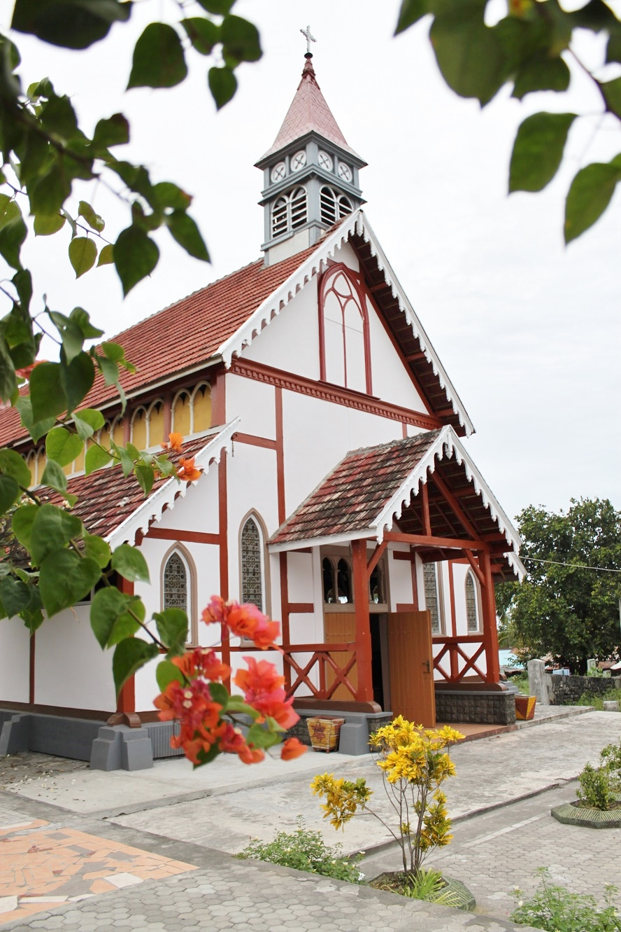 Sikka's Wooden Church