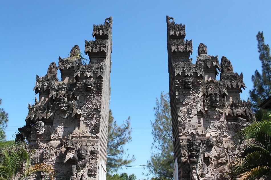 Candi Bentar (Split Gate) at Pura Beji