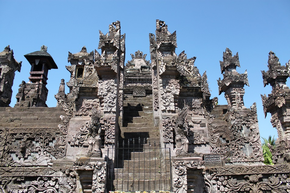 A Towering Stepped Temple