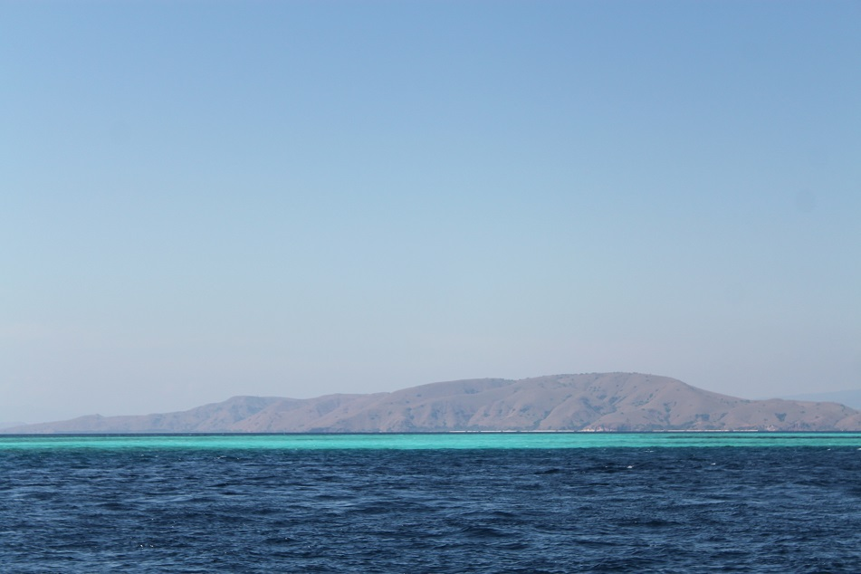 A Belt of Turquoise on the Horizon