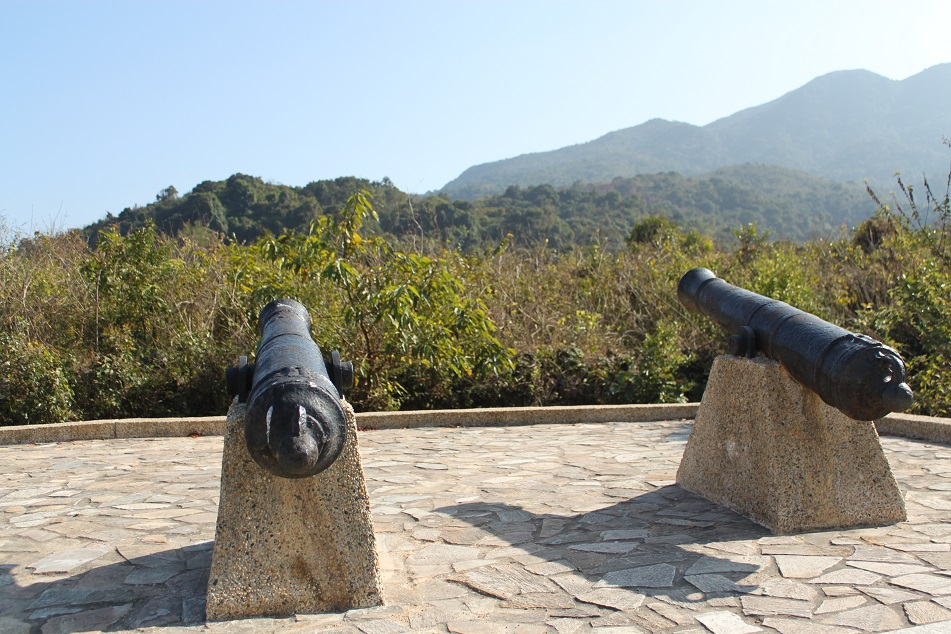 Cannons Guarding the Village