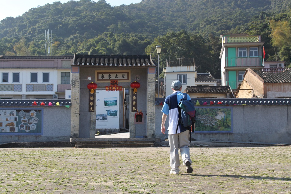 Entering the Main Gate of Lai Chi Wo