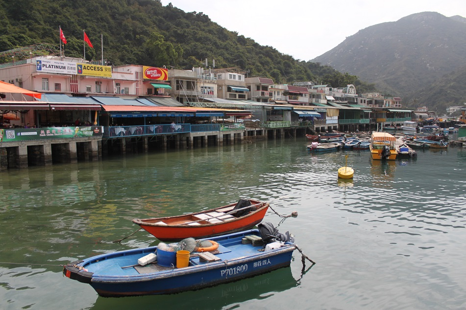 Stilt Houses and Restaurants at Sok Kwu Wan