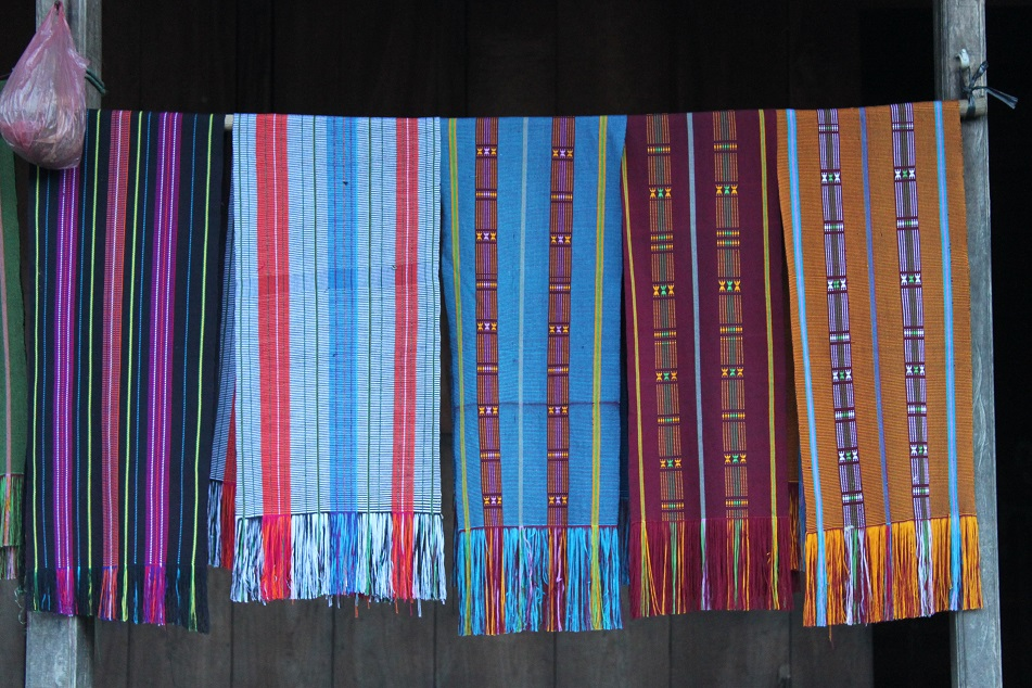 Colorful Woven (Tenun) Cloths