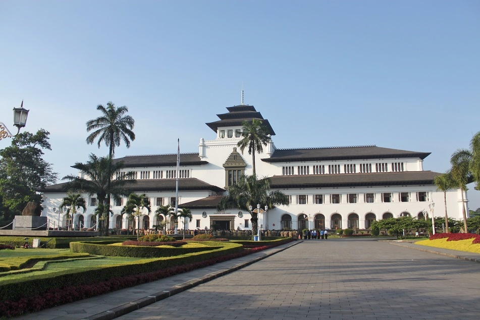 Gedung Sate, the Provincial Seat of Government of West Java