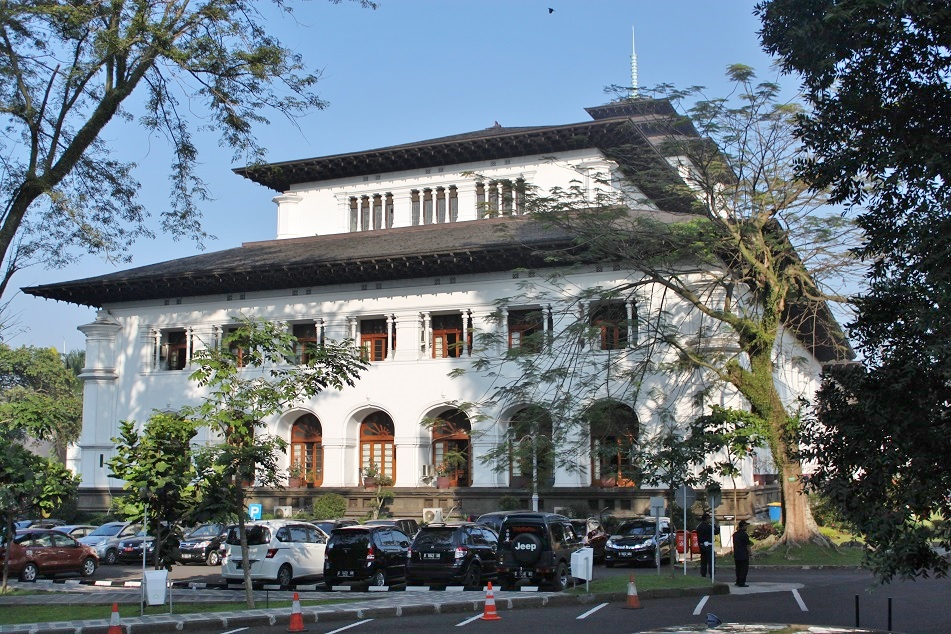 Gedung Sate, the West Wing