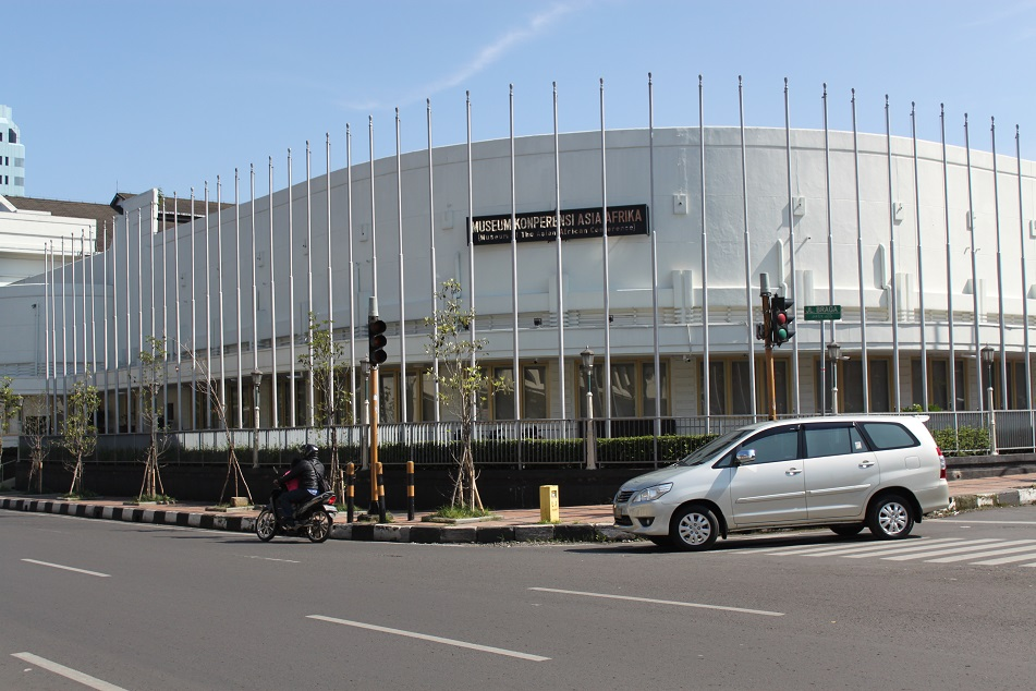Gedung Merdeka, the Site of 1955's Asian African Conference