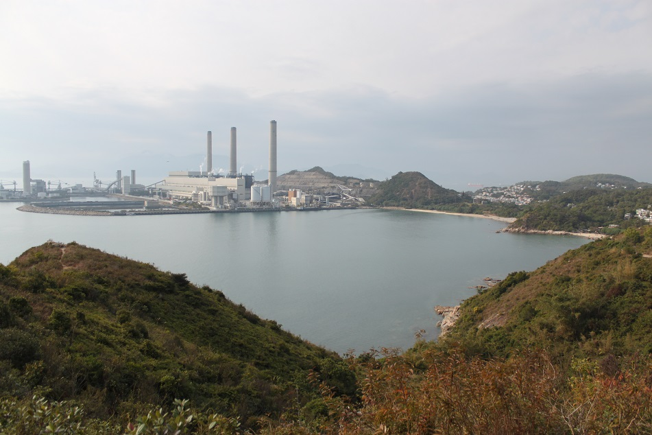 The Three Towers of Lamma Power Station