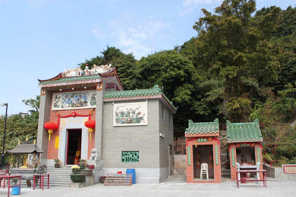 A Tin Hau Temple at Sok Kwu Wan