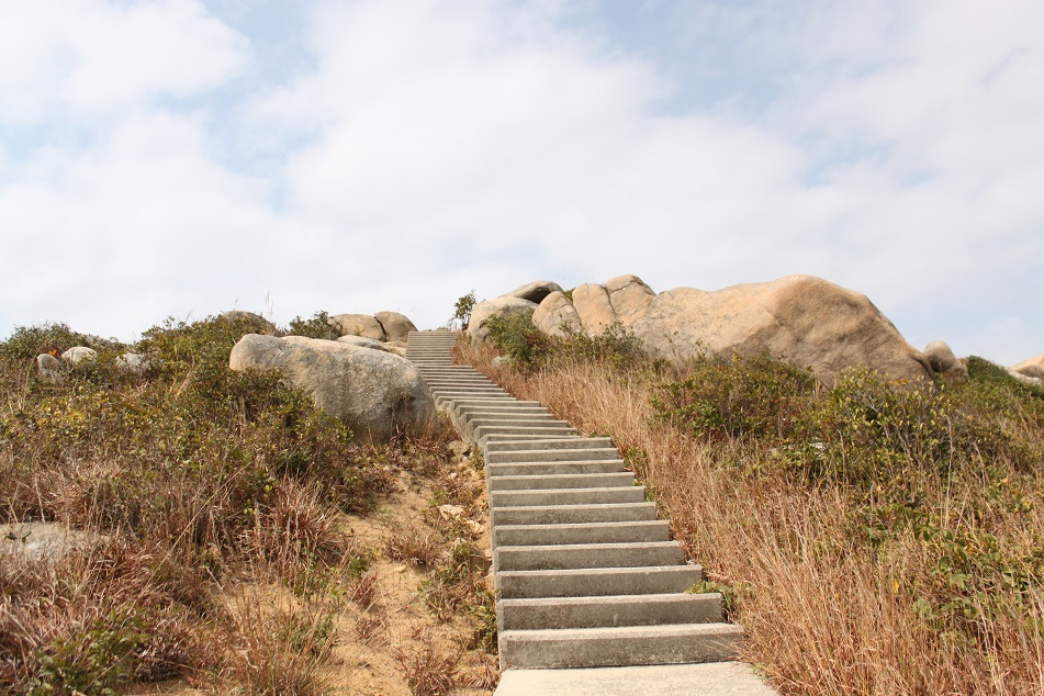 Stairs to the Peak
