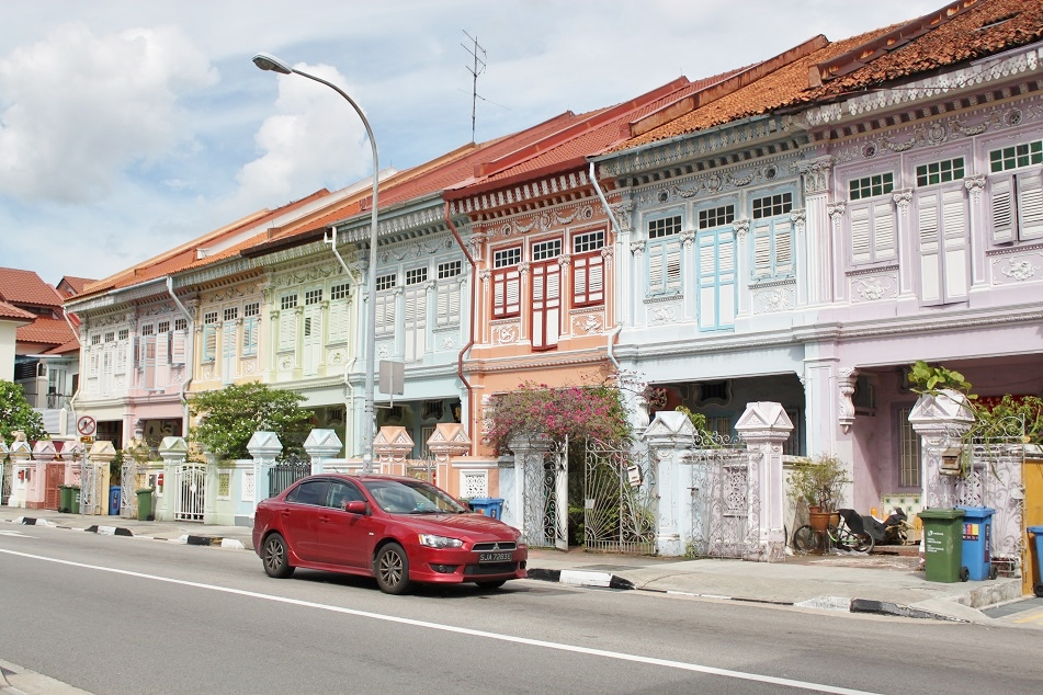 Colorful Shophouses at Joo Chiat