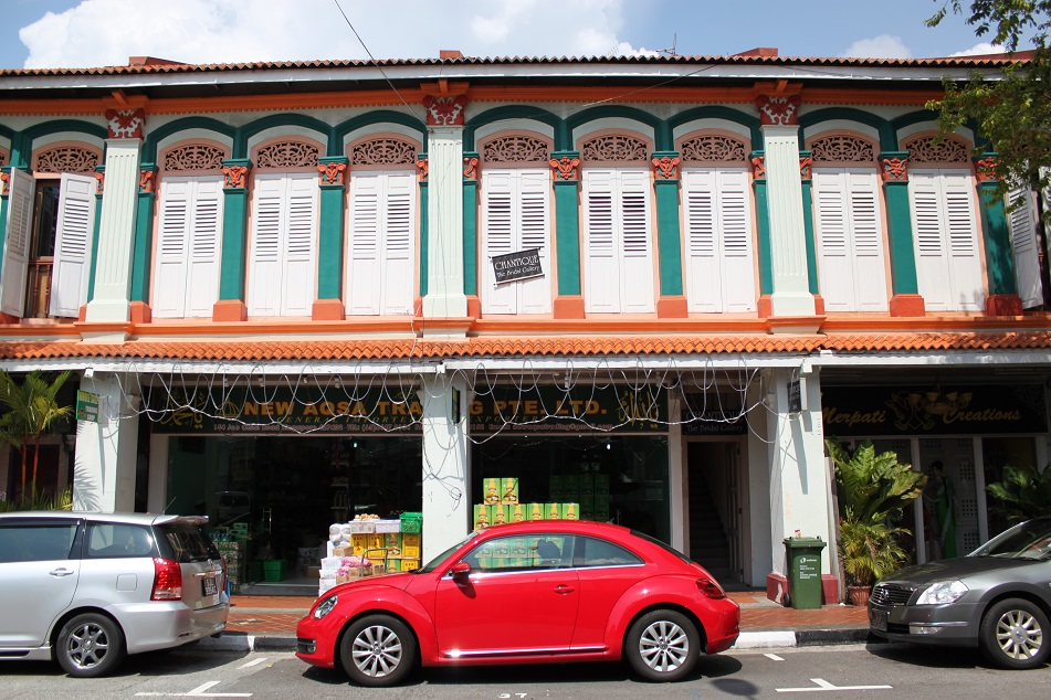 More Ornately-Decorated Shophouses