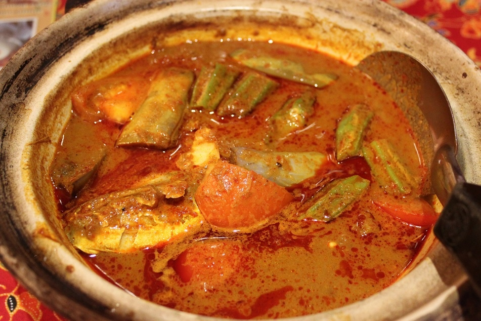 Nonya Assam Curry Fish