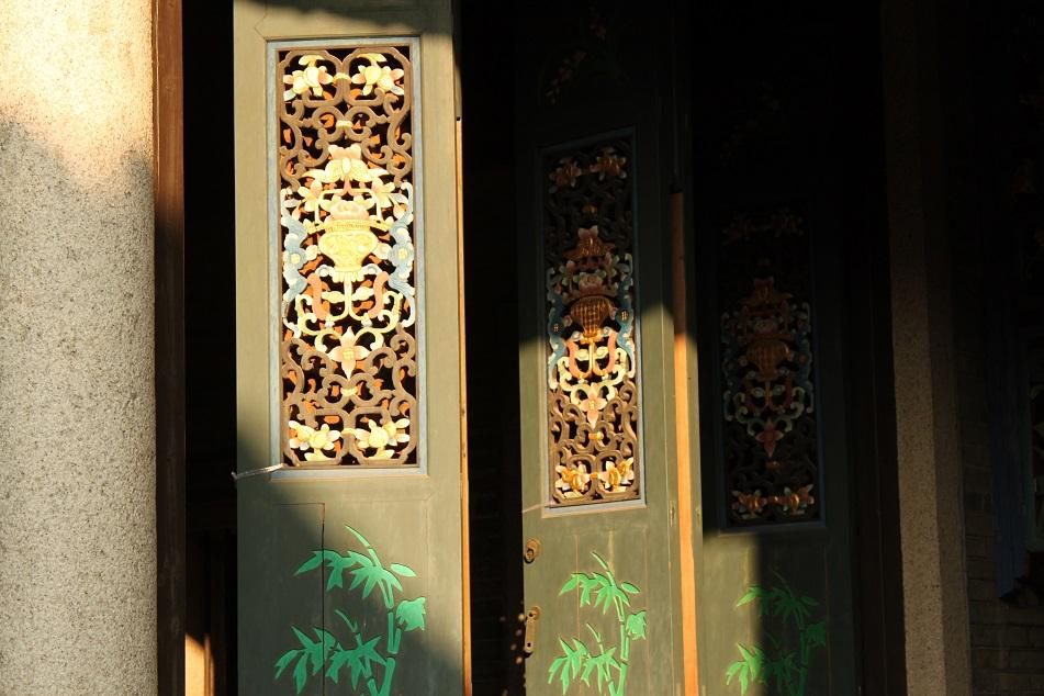 Colorful Folding Doors