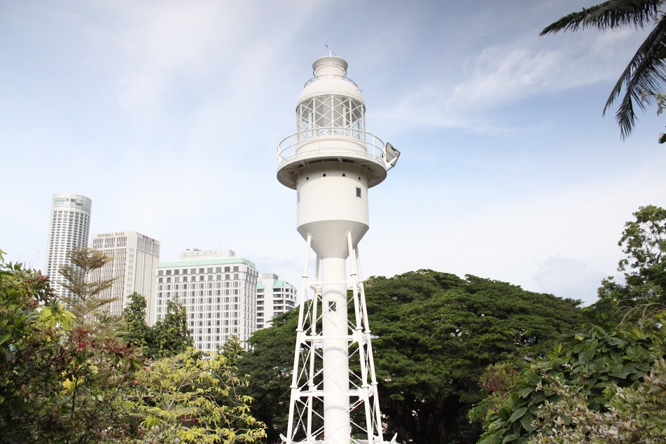 An Old Lighthouse at Fort Canning Hill