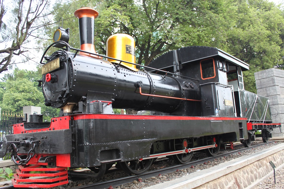 Old German Locomotive