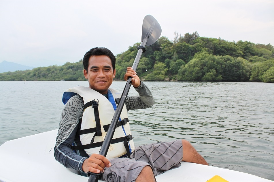 Wayan, Our Kayaking Guide
