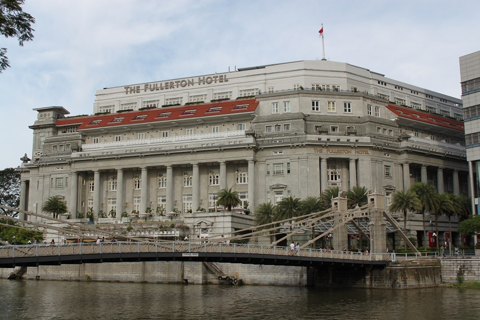The Fullerton Hotel, One of Marina Bay's Surviving Old Buildings