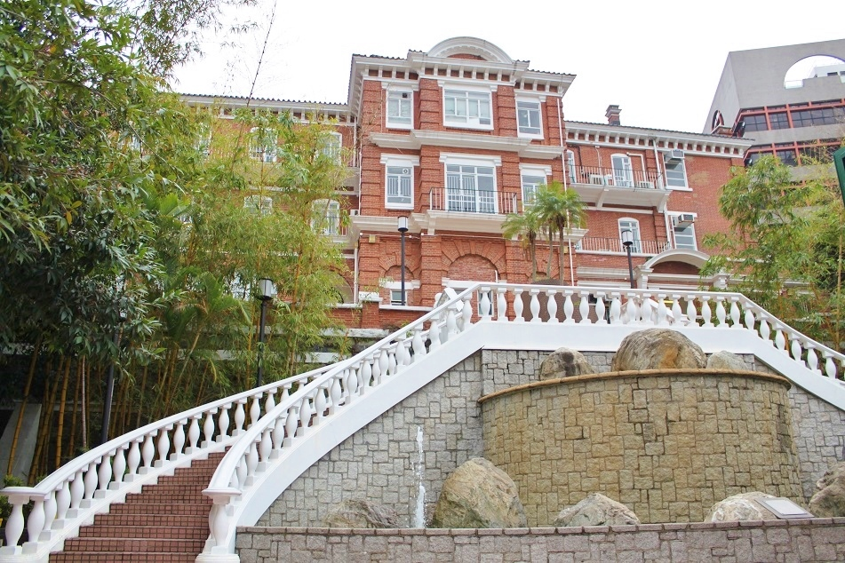 Eliot Hall at the University of Hong Kong